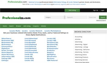 Professionalzz.com - National to local professional related information listings.